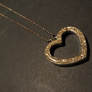 Light Yellow-Heart Necklace